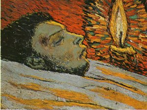 Picasso-La-mort-de-Casagemas.-1901.-27-x-35-cm.-Oil-on-wood.